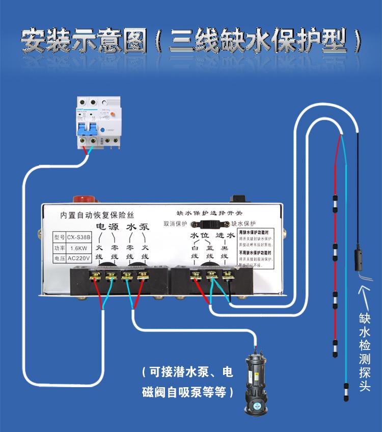 本产品采用台湾单片机控制,探头电压采用交流9v,可以传输500米信号